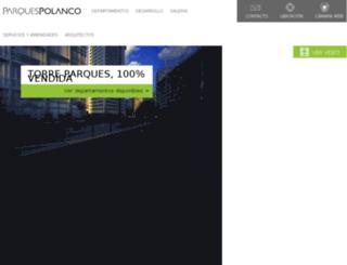 parquespolanco.com screenshot