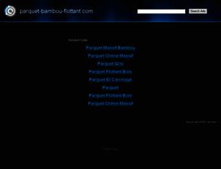 parquet-bambou-flottant.com screenshot