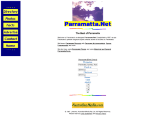 parramatta.net screenshot
