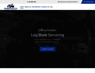 parramattaautomotive.com.au screenshot