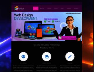 parribaproductions.com screenshot
