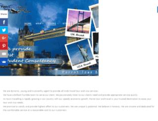 parrottourtravel.com screenshot