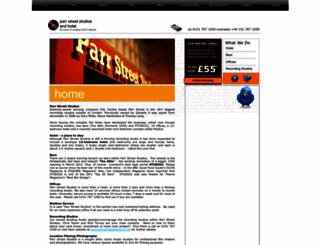 parrstreet.co.uk screenshot