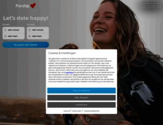 parship.be screenshot
