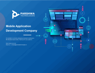 parshwatechnologies.com screenshot