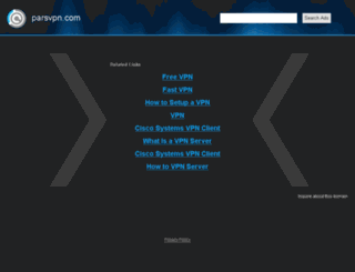 parsvpn.com screenshot