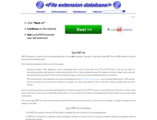 part.extensionfile.net screenshot