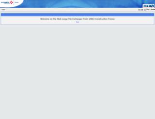 partage.vinci-construction.fr screenshot