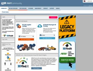 partcommunity.com screenshot
