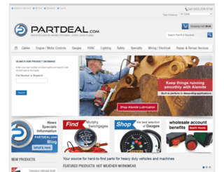 partdeal.com screenshot