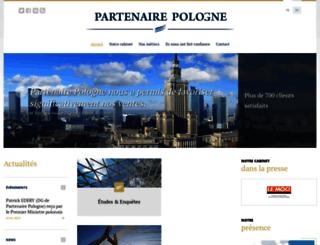 partenairepologne.com screenshot