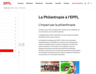 partenariats.epfl.ch screenshot
