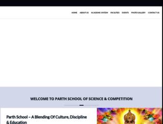 parthschool.org screenshot