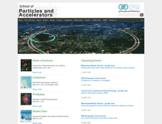 particles.ipm.ir screenshot