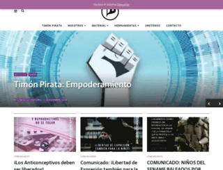 partidopirata.cl screenshot
