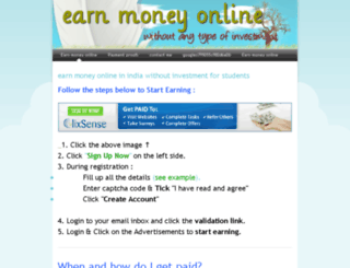 partimedollar.weebly.com screenshot