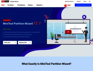 partitionwizard.com screenshot