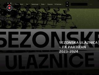 partizan.rs screenshot