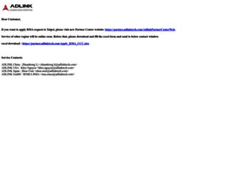partner.adlinktech.com screenshot