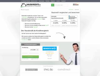 partner.baukredit.com screenshot