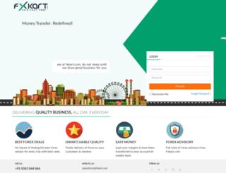 partner.fxkart.com screenshot