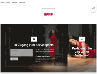 partner.haro.de screenshot