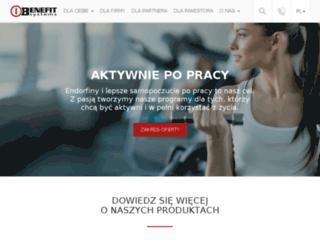 partner.multibenefit.pl screenshot