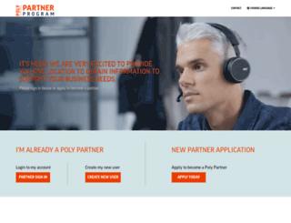 partner.polycom.com screenshot