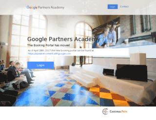 partneracademy.cardinalpath.com screenshot