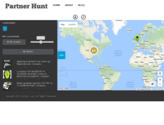 partnerhunt.com screenshot