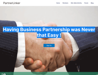 partnerlinker.com screenshot