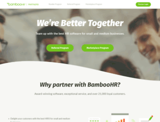 partners.bamboohr.com screenshot