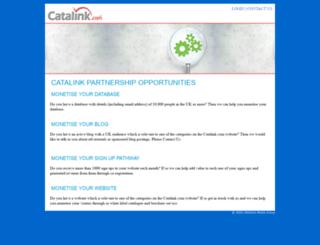 partners.catalink.com screenshot