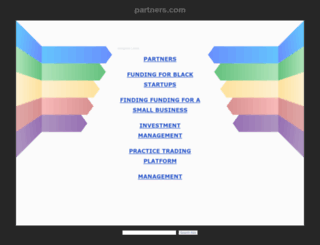 partners.com screenshot