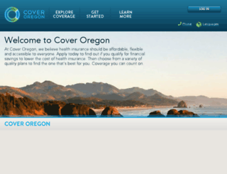 partners.coveroregon.com screenshot
