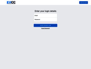 partners.fxcc.com screenshot