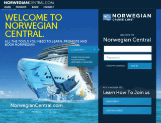 partners.ncl.com screenshot