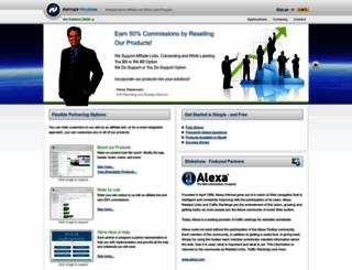 partners.netapplications.com screenshot