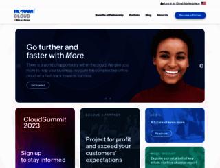 partners.odin.com screenshot