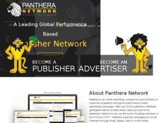 partners.pantheranetwork.com screenshot