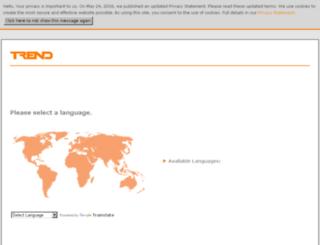 partners.trendcontrols.com screenshot