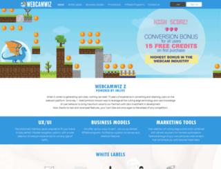 partners.webcamwiz.ru screenshot
