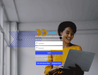 partners.zixcorp.com screenshot