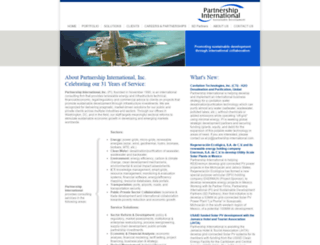 partnership-international.com screenshot