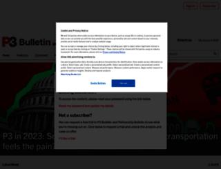 partnershipsbulletin.com screenshot