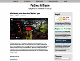 partnersinrhyme.com screenshot