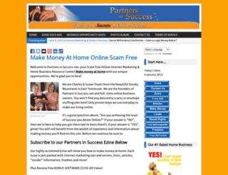 partnersinsuccess.net screenshot