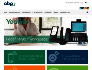 partnerstore.abptech.com screenshot