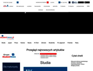 partnerzy.studentnews.pl screenshot