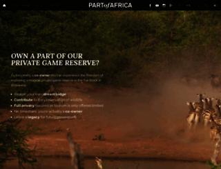 partofafrica.com screenshot